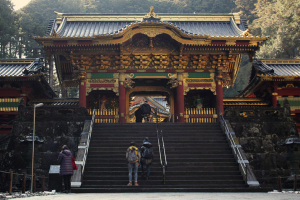 Gate to buildings enshrining Taiyū-in, the deified image of Tokugawa Iemitsu.