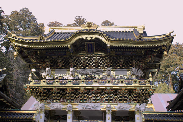Second gate of Tōshō-gū shrine.