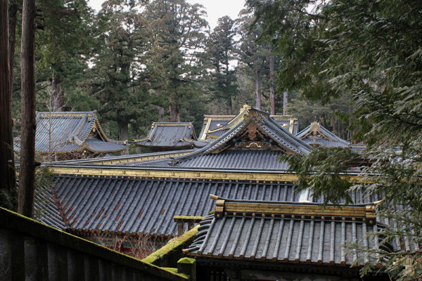 Roofs of Tōshō-gū shrine.