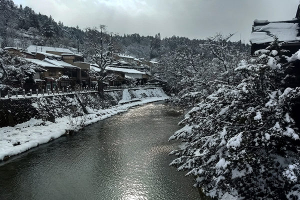 Takayama in the snow