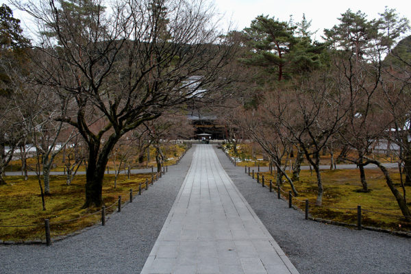 Approach to the outer gate of Nanzen-ji temple