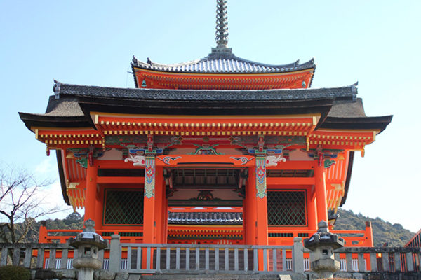 Outer temple building at Kiyomizu-dera